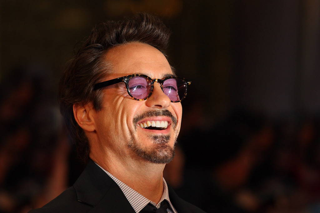 LONDON, ENGLAND - APRIL 19: Robert Downey Jr attends the European premiere of Marvel Avengers Assemble at Vue West End on April 19, 2012 in London, England. ( Photo by Mike Marsland/Wireimage)